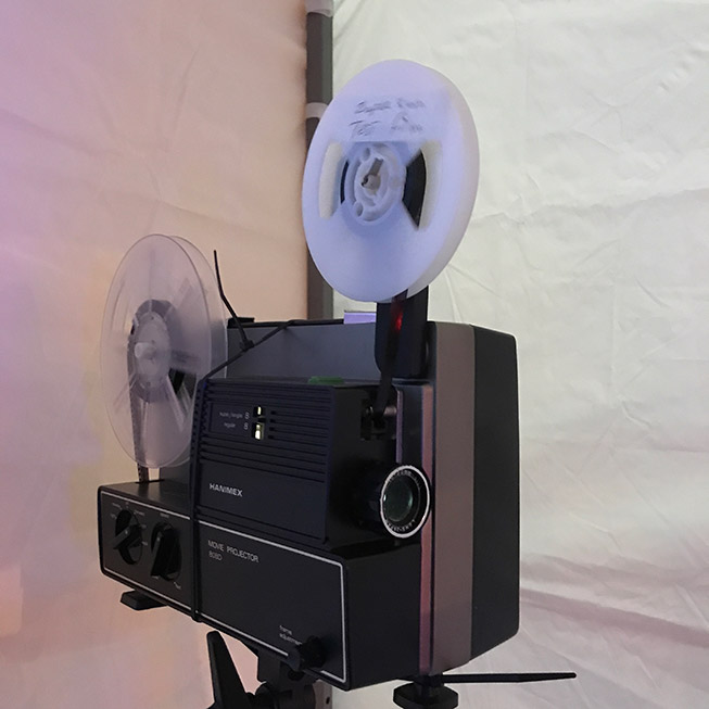 Hanimex 8mm projector