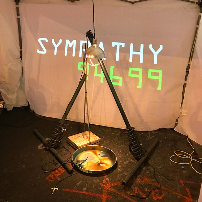 Countdown timer for performance of Sympathy